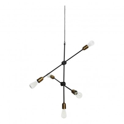Suspension lampe Molecular ajustable