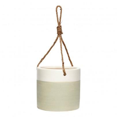 cache pot suspendre d13xh12 cm en c ramique h bsch. Black Bedroom Furniture Sets. Home Design Ideas