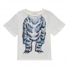 T-Shirt Ours Arlo Blanc cassé
