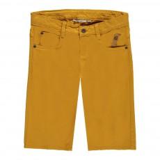 Bermuda Loose 5 poches Ocre
