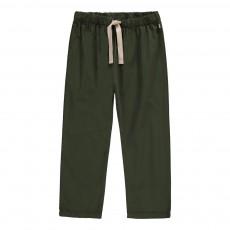 Pantalon Cordon Vert kaki