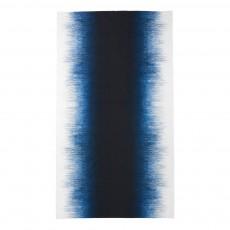 Nappe en coton imprimé 140x240 cm Bleu