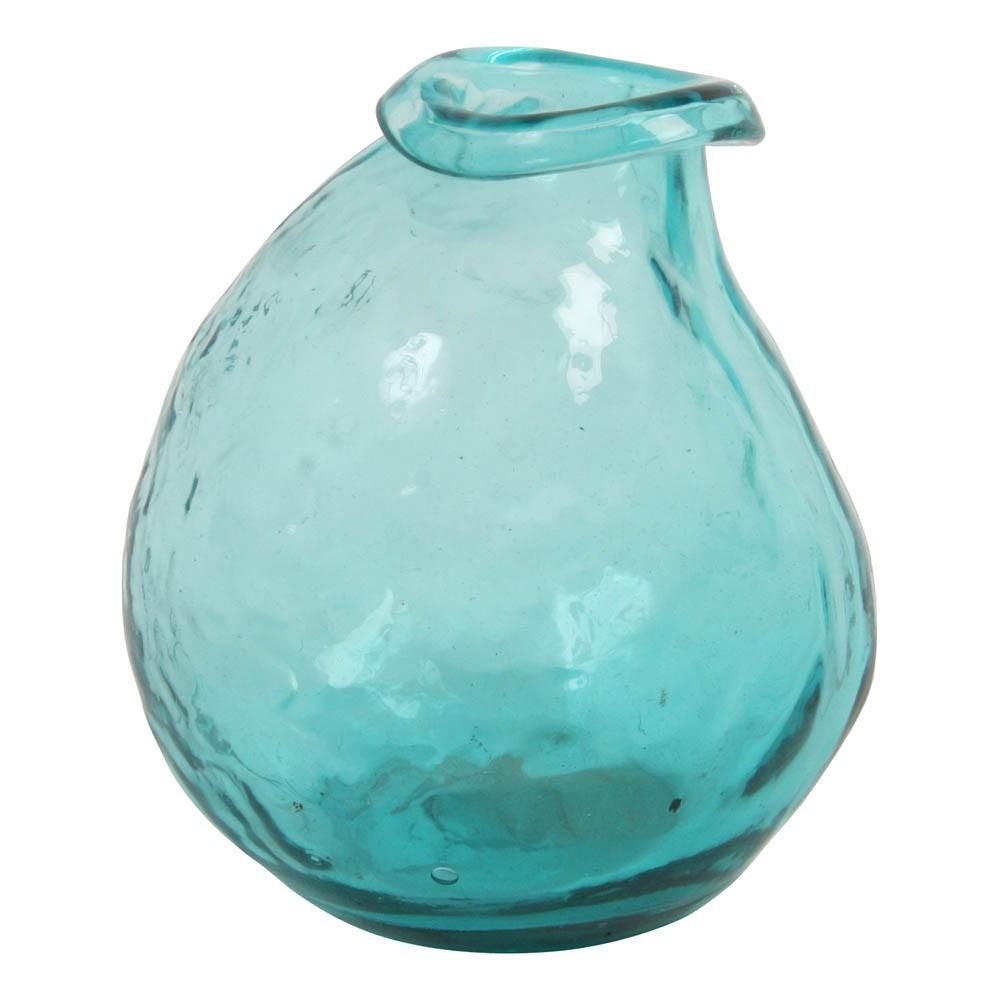 Vase irr gulier bleu turquoise klevering d coration for Decoration bleu turquoise