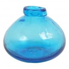 Vase irrégulier Bleu
