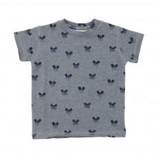T-Shirt Souris Ashton Gris chiné