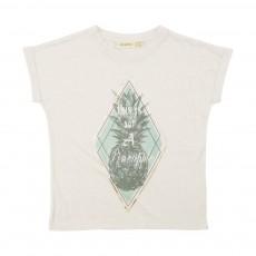 T-Shirt Ananas Raja Ecru