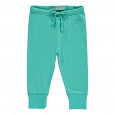 Pantalon Poni Bleu turquoise