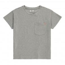 T-Shirt Cropped Topini Gris chiné
