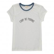 """T-Shirt """"Coup De Foudre"""" Vicomte Blanc"""
