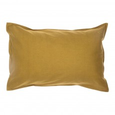 Taie d'oreiller 75x50 cm Jaune moutarde