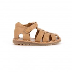 Sandales Cuir Waff Papy Camel