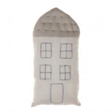 Coussin maison 29x57,5 cm Ivoire