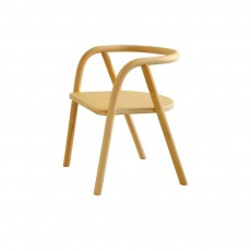 Chaise enfant en rotin Naturel