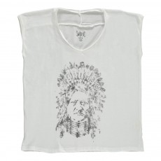 T-shirt Indien Obscur Blanc
