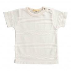 T-shirt Texturé Tyn Rose pâle