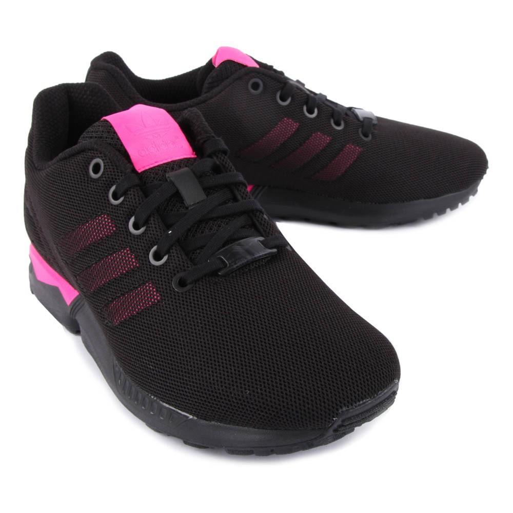 adidas noir et rose zx flux