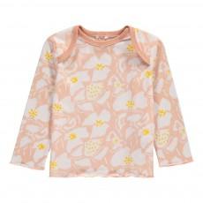 T-Shirt Fleurs Buster Rose