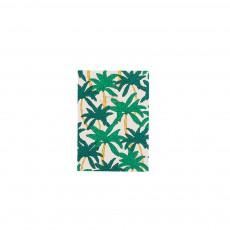 Cahier palmiers Multicolore