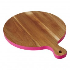 Planche à découper en bois d'acacia Rose
