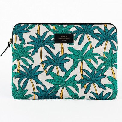 Palm Trees Laptop Envelope 13  Multicoloured