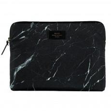 """Pochette laptop 13"""" marbre Noir"""