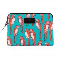 Pochette iPad perroquets Multicolore
