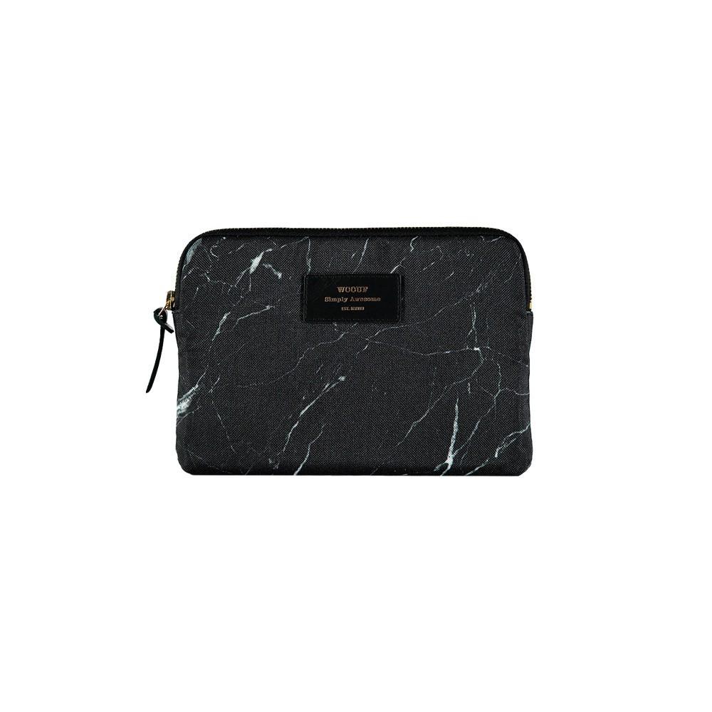 pochette ipad mini marbre noir woouf d coration smallable. Black Bedroom Furniture Sets. Home Design Ideas