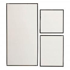 Miroirs - Set de 3 Noir