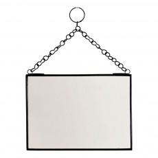 Miroir horizontal Noir