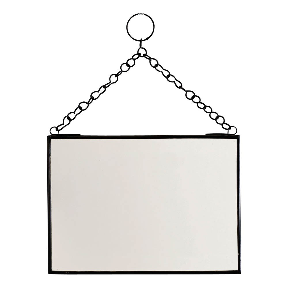 Miroir horizontal noir madam stoltz d coration smallable for Miroir horizontal