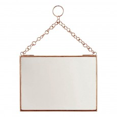 Miroir horizontal Cuivre