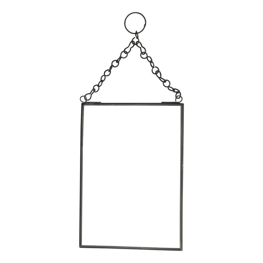 Miroir vertical noir madam stoltz d coration smallable for Miroir vertical