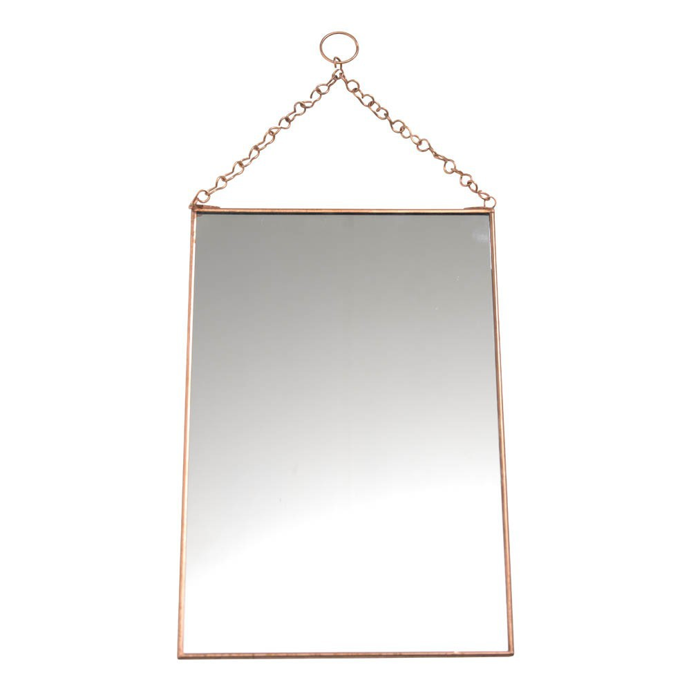 Miroir vertical cuivre madam stoltz d coration smallable for Miroir vertical