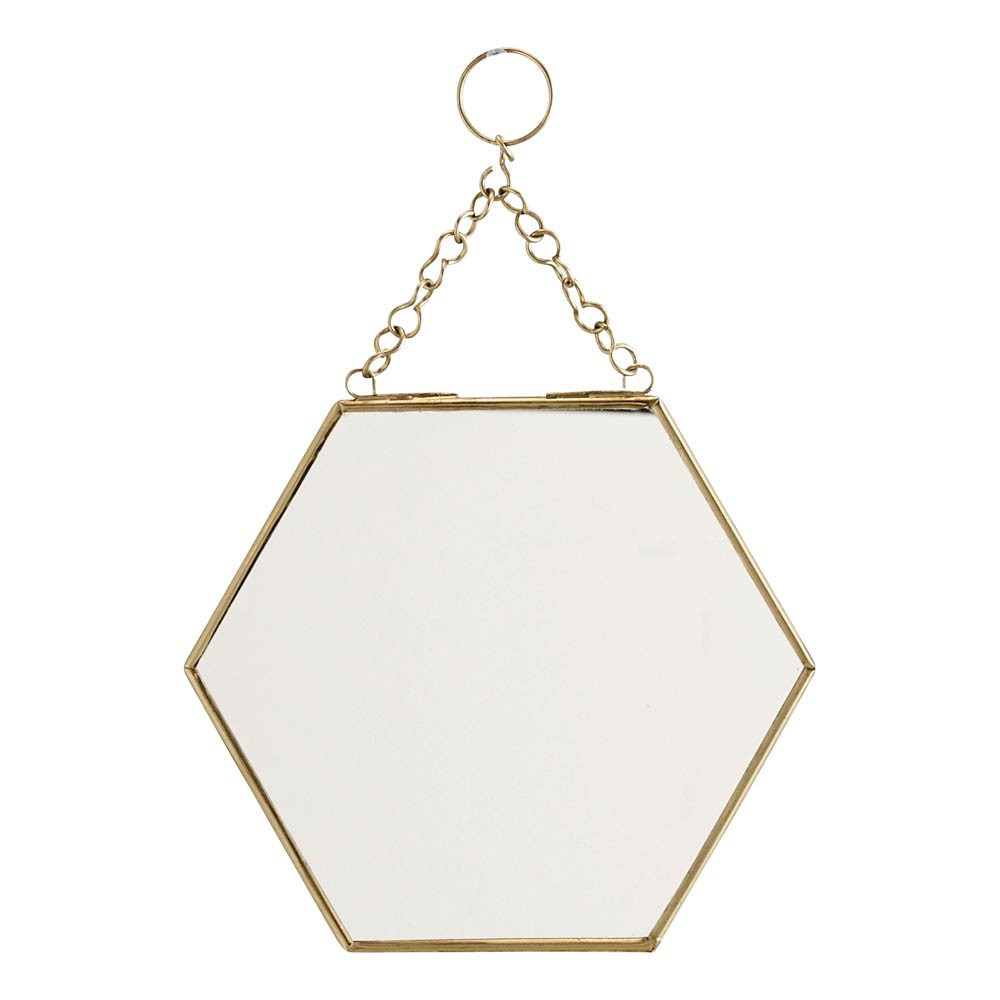 miroir hexagonal madam stoltz d coration smallable