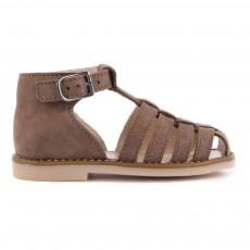 Sandales Nubuck Joyeux Marron