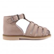 Sandales Nubuck Joyeux Taupe