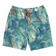 Short Bain Jungle Bleu marine