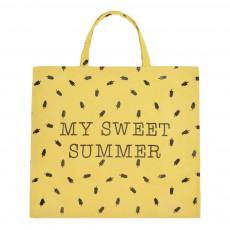 Sac en coton Sweet summer Jaune
