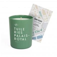 Bougie et pochette parfumées Tuileries-palais Royal - 185 g Vert