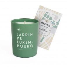 Bougie et pochette parfumées Jardin du Luxembourg - 185 g Vert