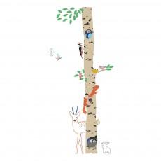 Sticker Into the wood Multicolore