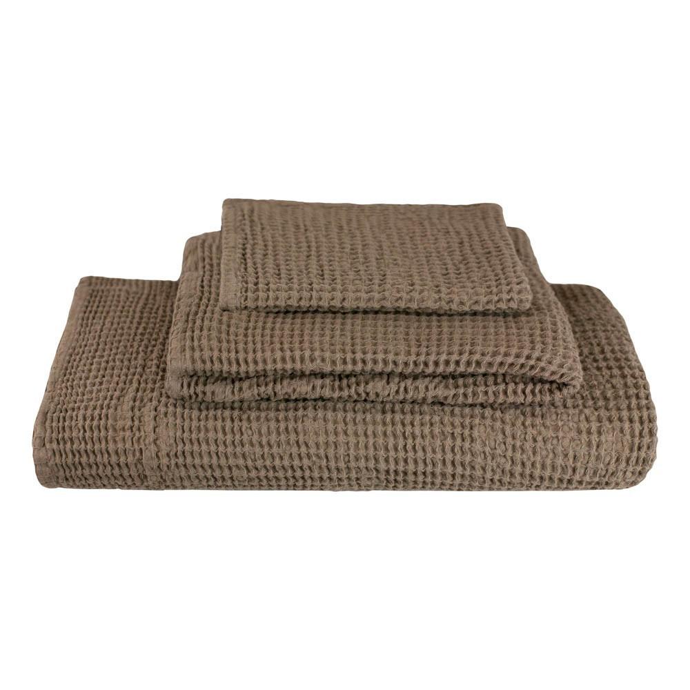 set de 3 serviettes de toilette en nid d abeille beige numero 74 univers b 233 b 233 smallable