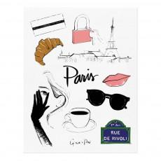 Affiche Rifle Paper Paris par Garance Doré - 28x35 cm Multicolore
