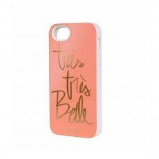 Coque iPhone 5/5s Rifle Paper Belle par Garance Doré Corail