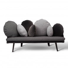 Canapé Nubilo Gris-noir