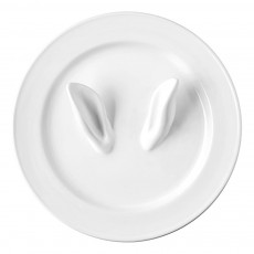 Assiette en céramique Curiosity Blanc