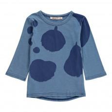 T-Shirt Manches 3/4 Big Fruits Bleu