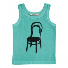 Débardeur Chaise Thonet Bleu turquoise