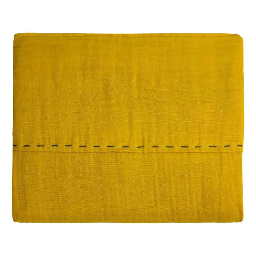 drap jaune. Black Bedroom Furniture Sets. Home Design Ideas