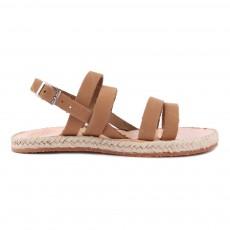 Sandales Cuir Kythira Camel